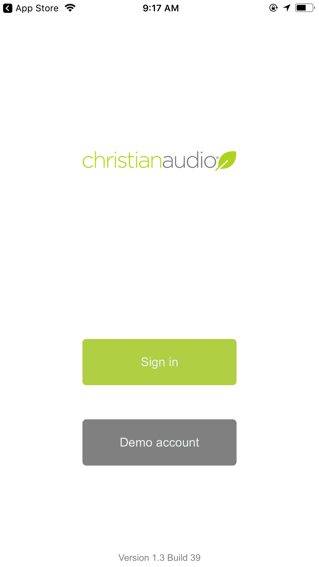 STEP by STEP: iPhone/iPad/iPod – christianaudio Help Desk
